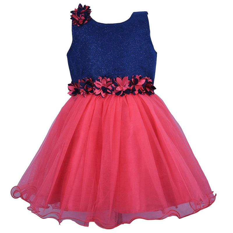 Baby Girls Party Wear Frock Dress Fr1005T -  Wish Karo Dresses
