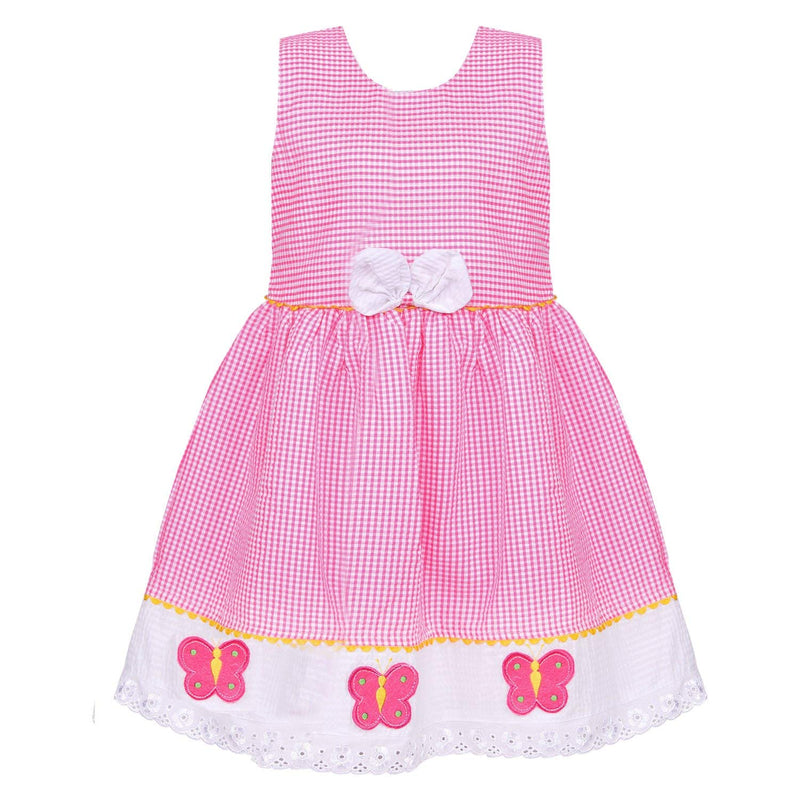Baby Girls Cotton Frock Dress Ctn272P -  Wish Karo Dresses