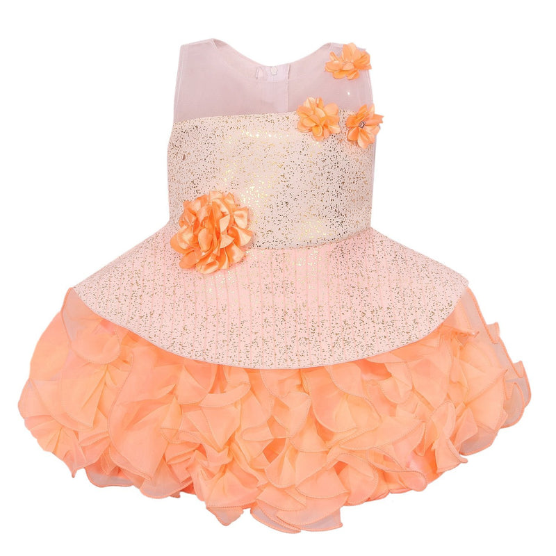 Baby Girls Party Wear Frock Dress Fe2439pch -  Wish Karo Dresses