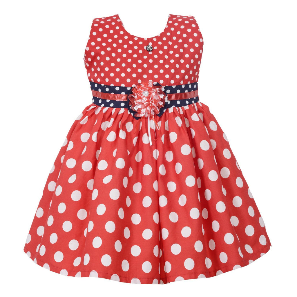 Baby Girls  Dress ctn257rd -  Wish Karo Dresses