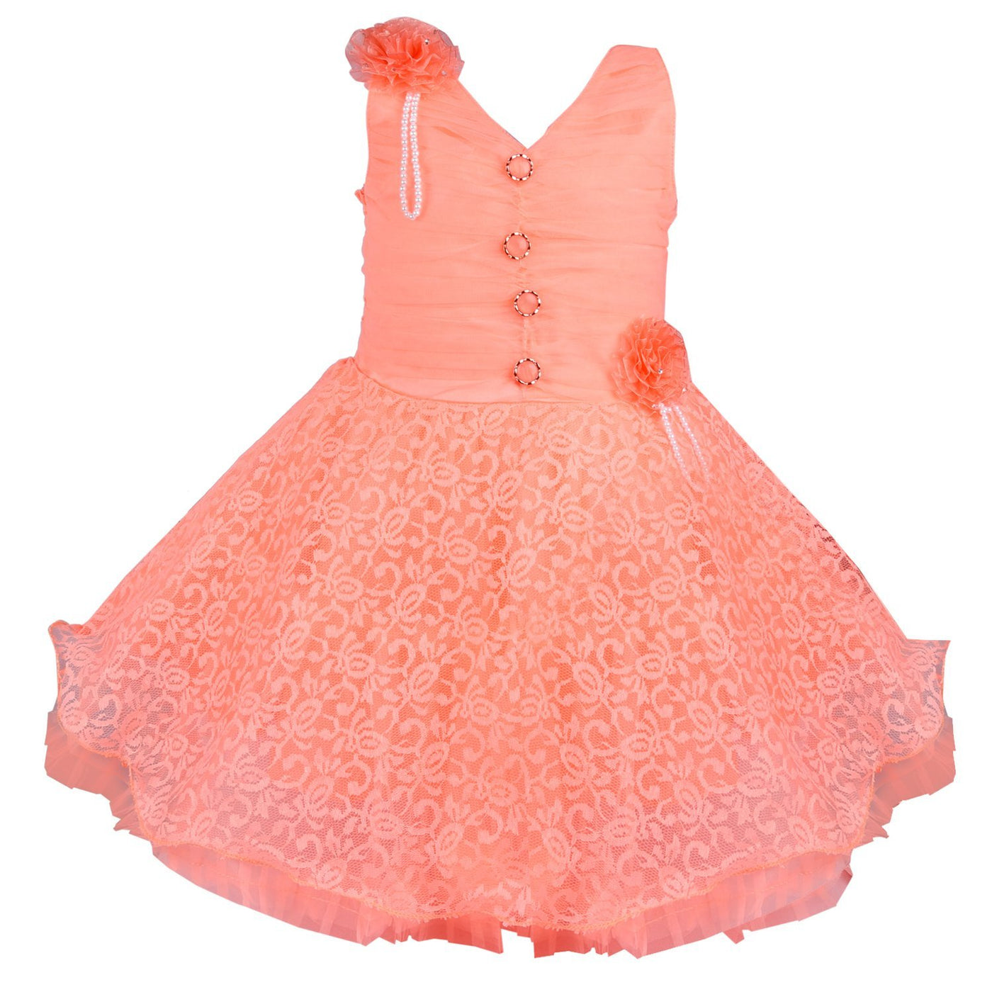699099d9f Baby Girls Party Wear Frock Dress DN fr1031pch - Wish Karo Dresses ...
