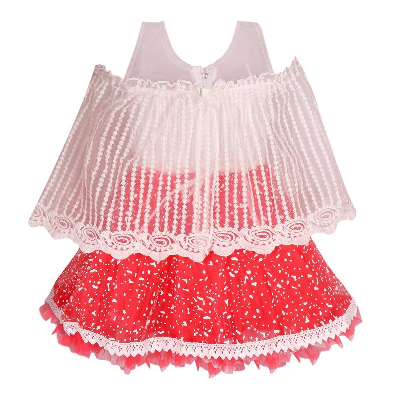 Baby Girls Party Wear Frock Dress fe2444rd -  Wish Karo Dresses