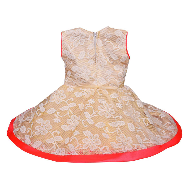 Baby Girls Party Wear Frock Dress fe2530cr -  Wish Karo Dresses