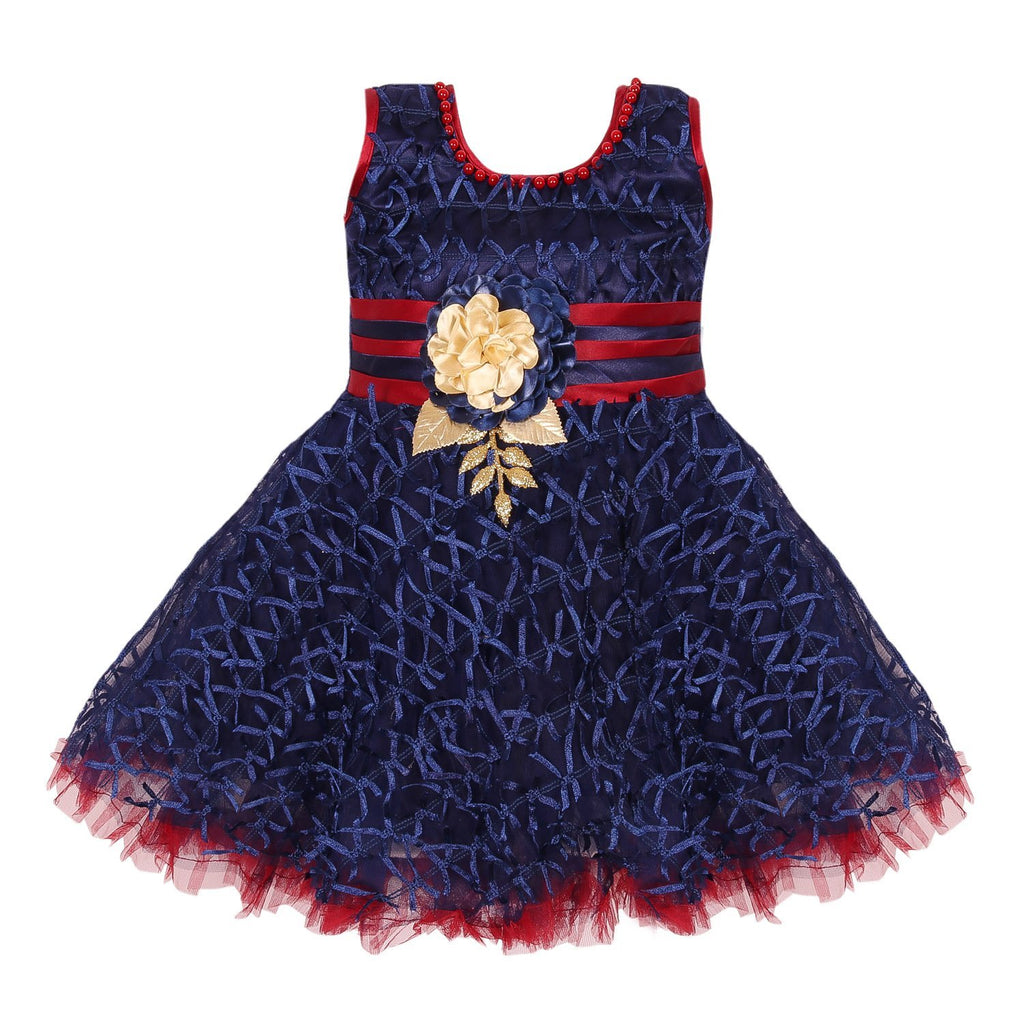Baby Girls Party Wear Frock Dress fe2436nv -  Wish Karo Dresses
