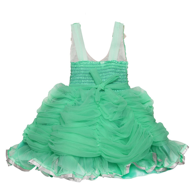 Baby Girls party wear Frock Dress FR 063sg -  Wish Karo Dresses