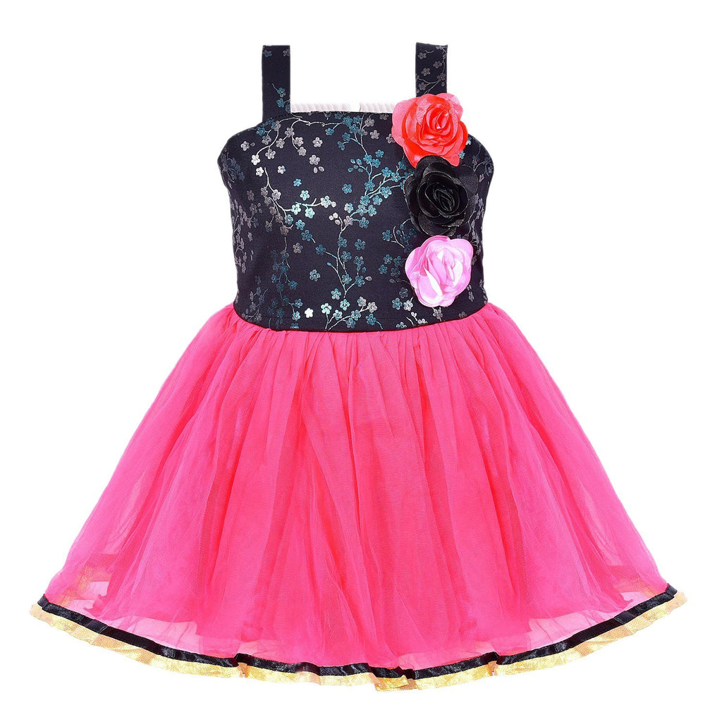 Baby Girls Party Wear Frock Dress fr913 -  Wish Karo Dresses