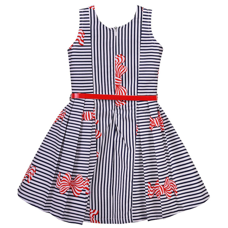 Baby Girls Cotton Frock Dress for Girls-bxa260rd
