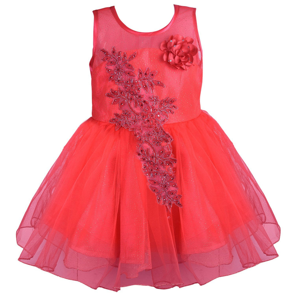 Party wear Baby Girls Dress Fr1051t -  Wish Karo Dresses