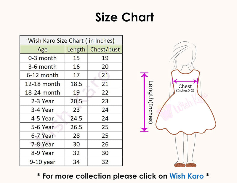 Baby Girls Party Wear Frock Birthday Dress For Girls bxa186grn