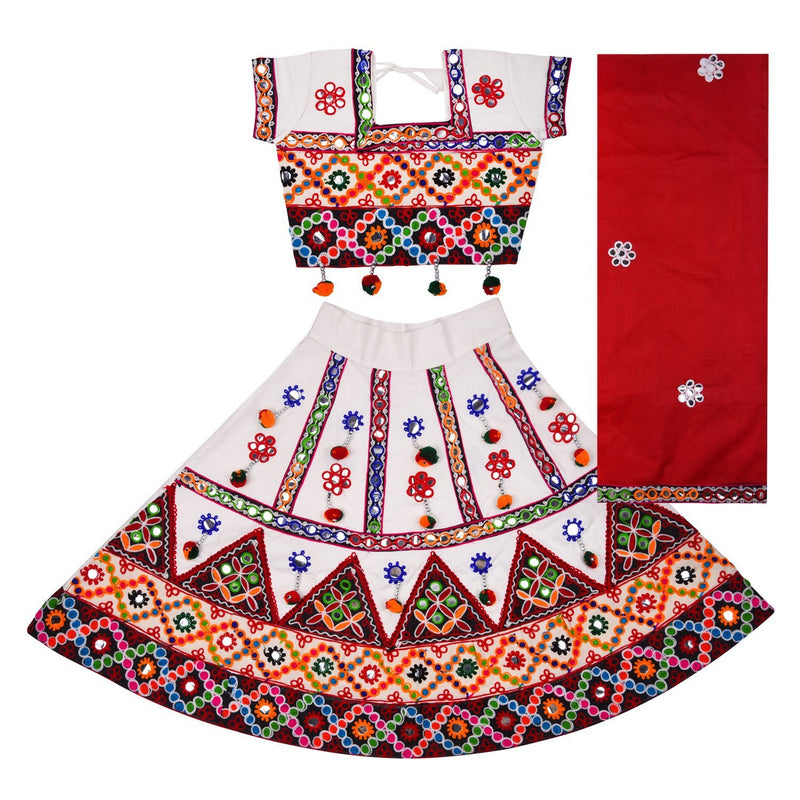 Girl's Ghaghra Choli  CGC015 -  Wish Karo Dresses