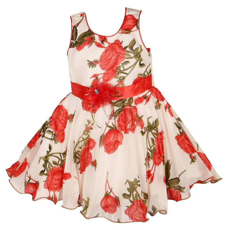 Party Wear Baby Girls Frock Dress Fr85TS -  Wish Karo Dresses