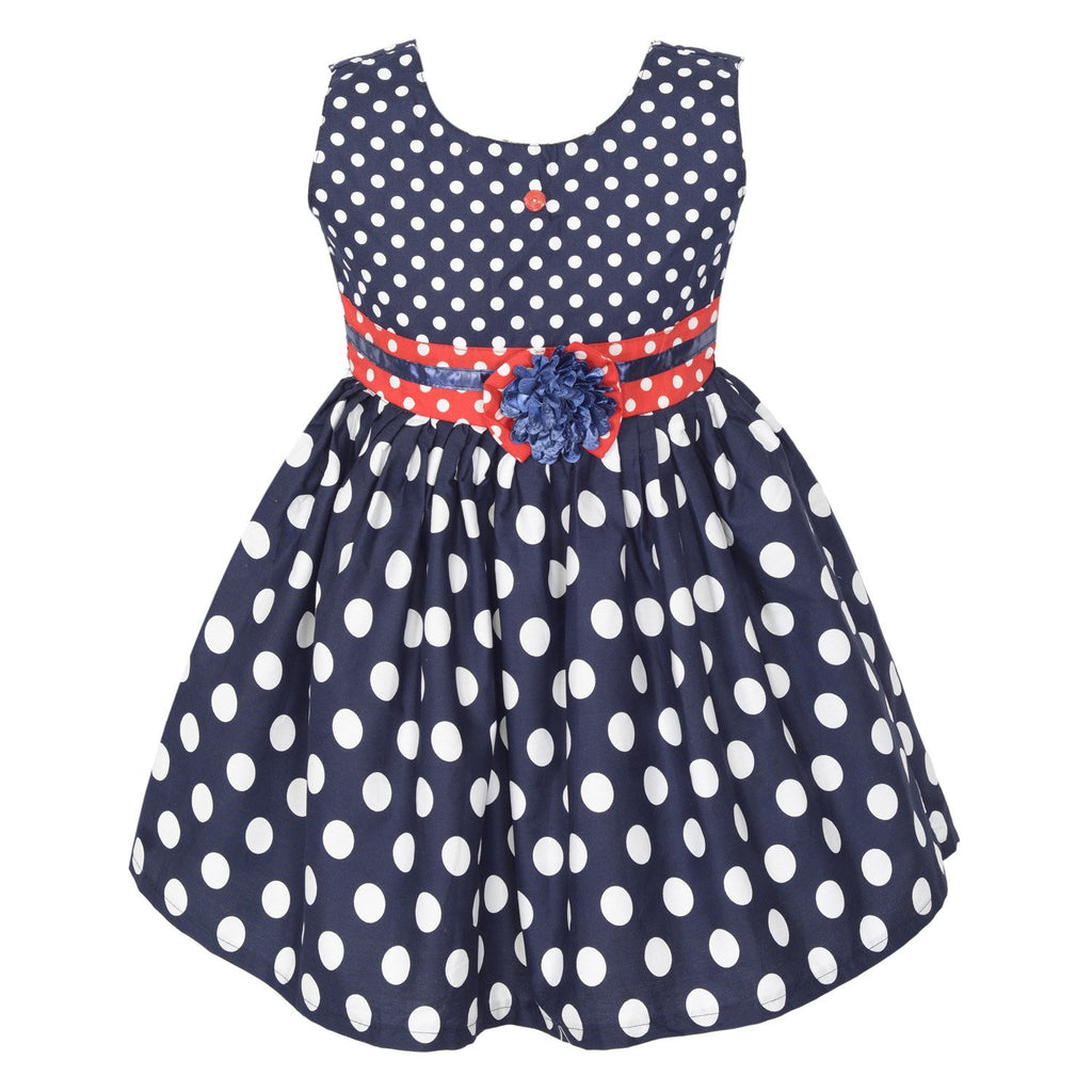 Baby Girls  Dress ctn257blu -  Wish Karo Dresses