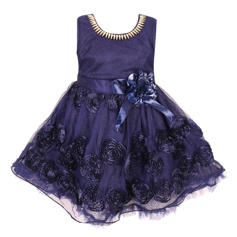 Baby Girls Party Wear Frock Dress fe2448nb -  Wish Karo Dresses