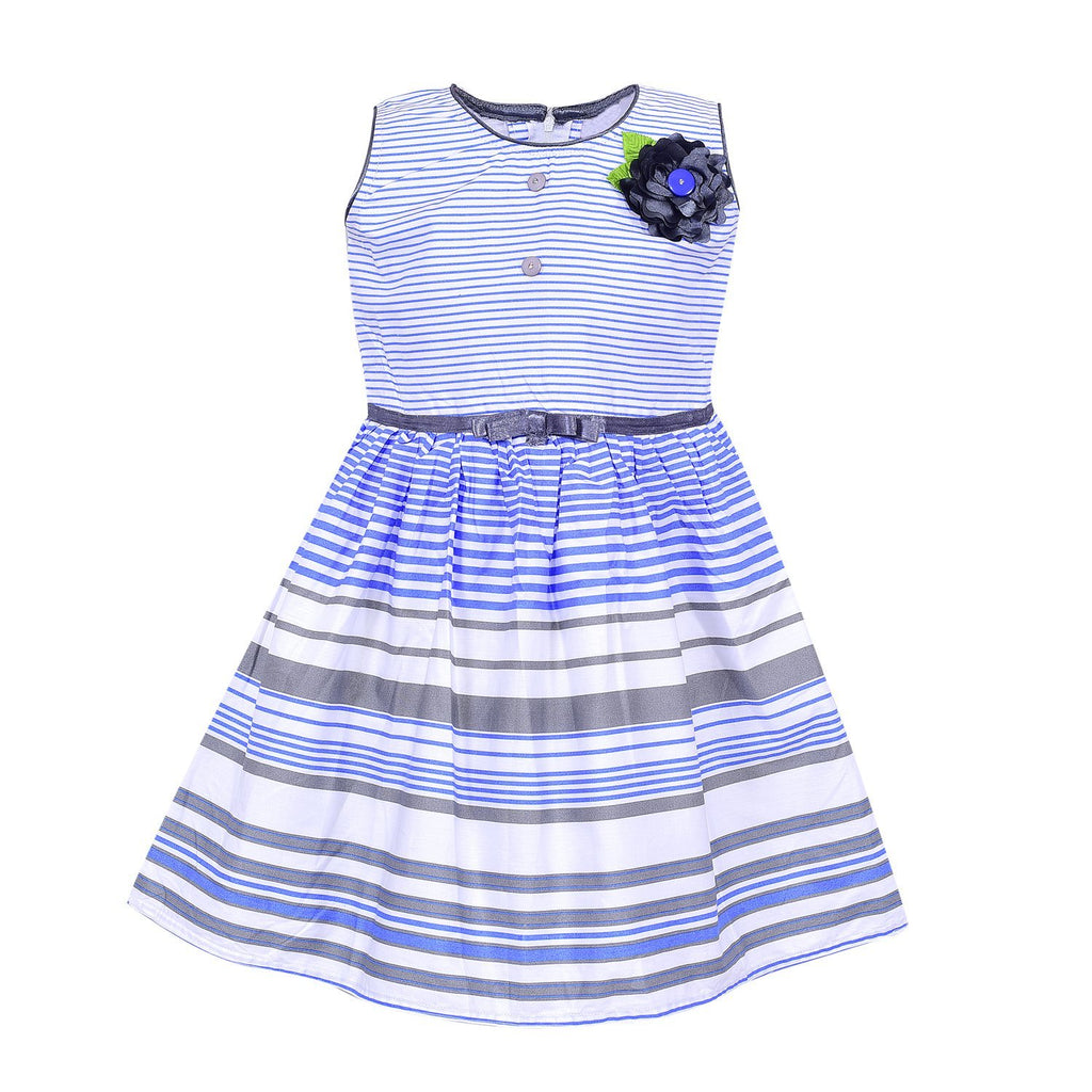 Baby Girls Frock ctn75blu -  Wish Karo Dresses