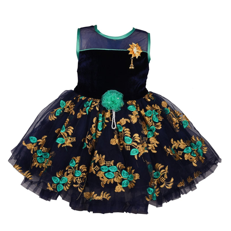 Baby Girls Party Wear Frock Dress Fre2177 -  Wish Karo Dresses