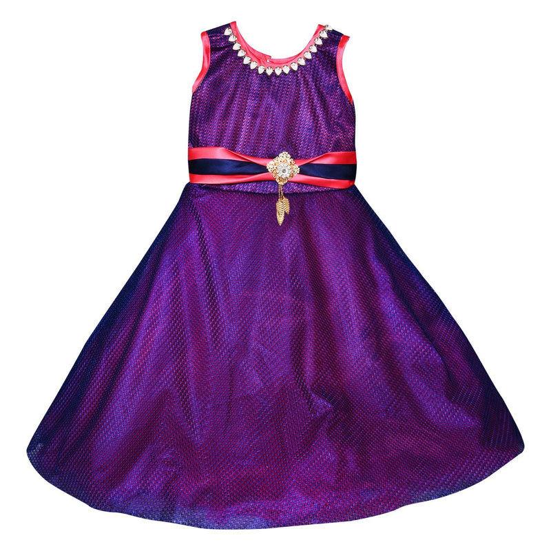 Girls Party Wear Long Dress Gown LF133t -  Wish Karo Dresses