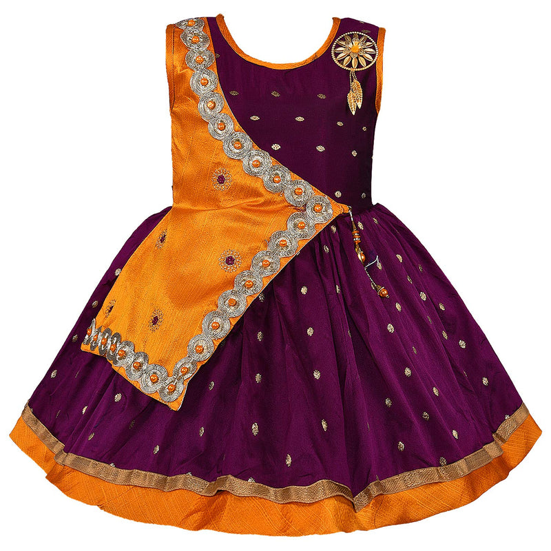 Baby Girls Party Wear Frock Birthday Dress For Girls fe2446own