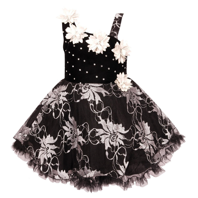 Baby Girls Party Wear Frock Dress fe1102silnw -  Wish Karo Dresses