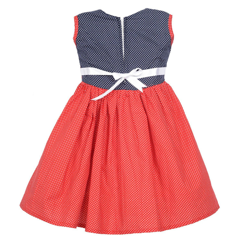 Baby Girls Dress ctn258rd -  Wish Karo Dresses
