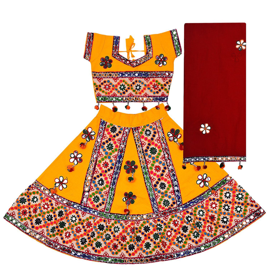 Girl's Chania Choli Dress CGC018 -  Wish Karo Dresses