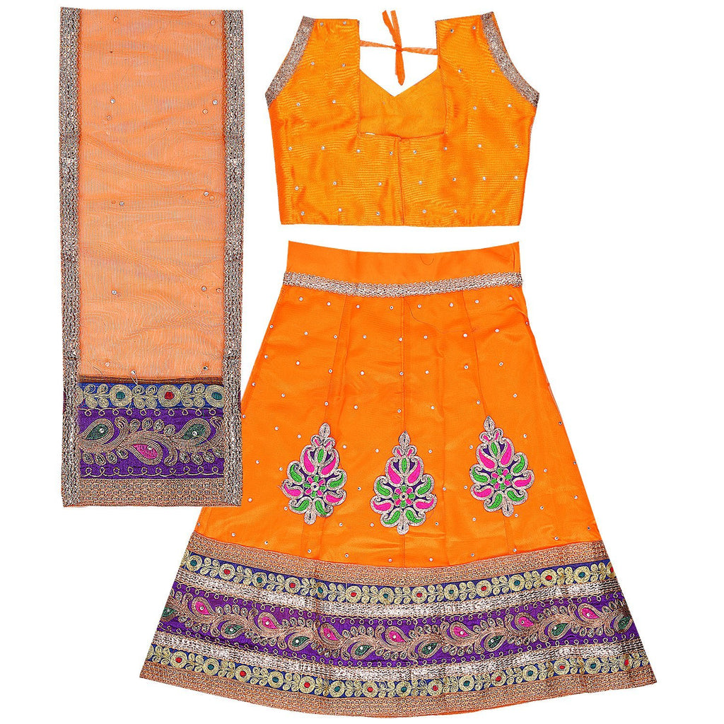 Girl's Leghnga Choli GC 127y -  Wish Karo Dresses