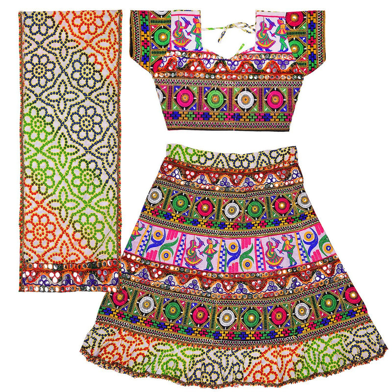 Ghaghra Choli  GC125g -  Wish Karo Dresses