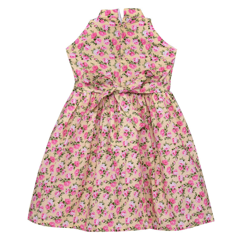 Baby Girls Cotton Frock Casual Dress for Girls ctn303pnk