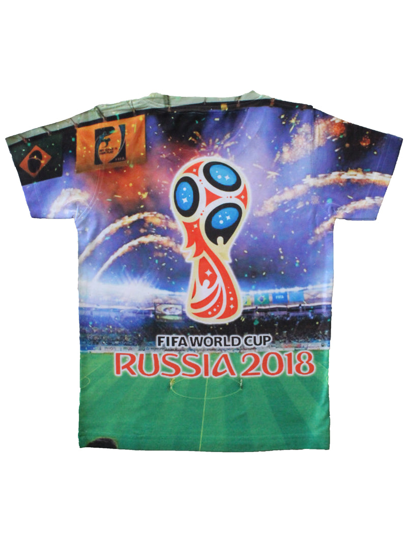Wish Karo | Boys FIFA World Cup Tshirt Multi-Color