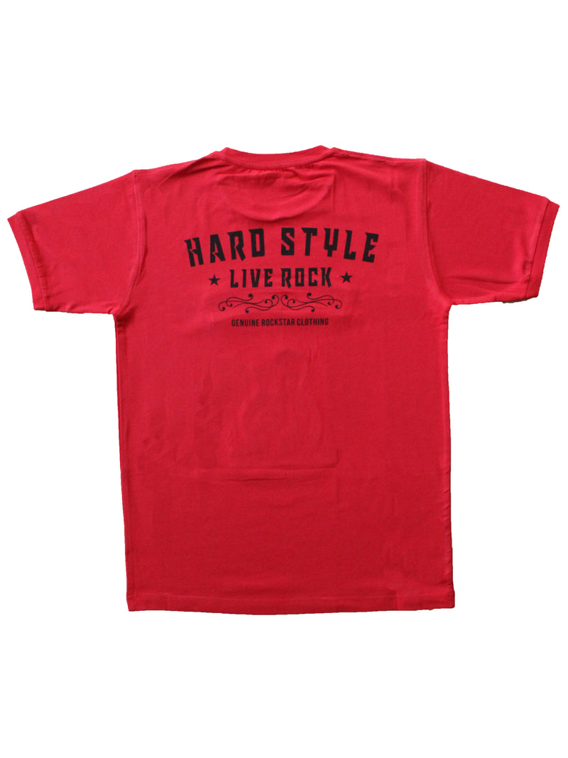 Wish Karo | Boys Rock Concert Tshirt Red