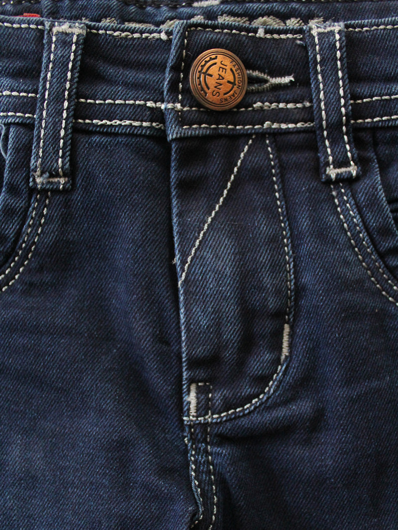 Wish Karo | Boys Dark Blue Jeans