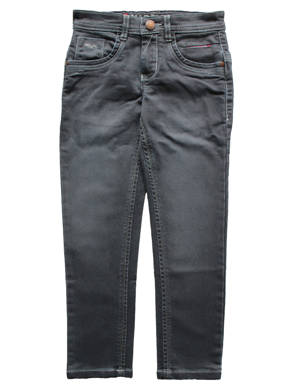 Wish Karo | Boys Grey Denim Jeans