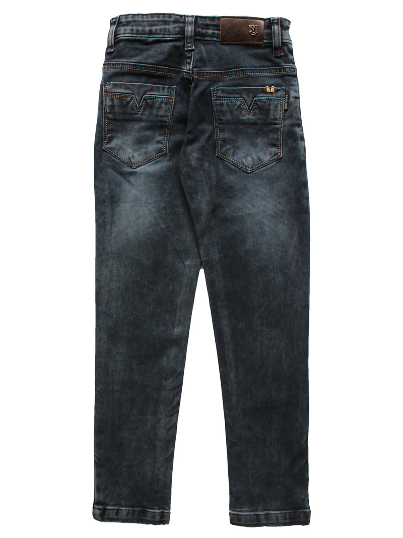 Wish Karo | Boys Blue Washed Denim Jeans