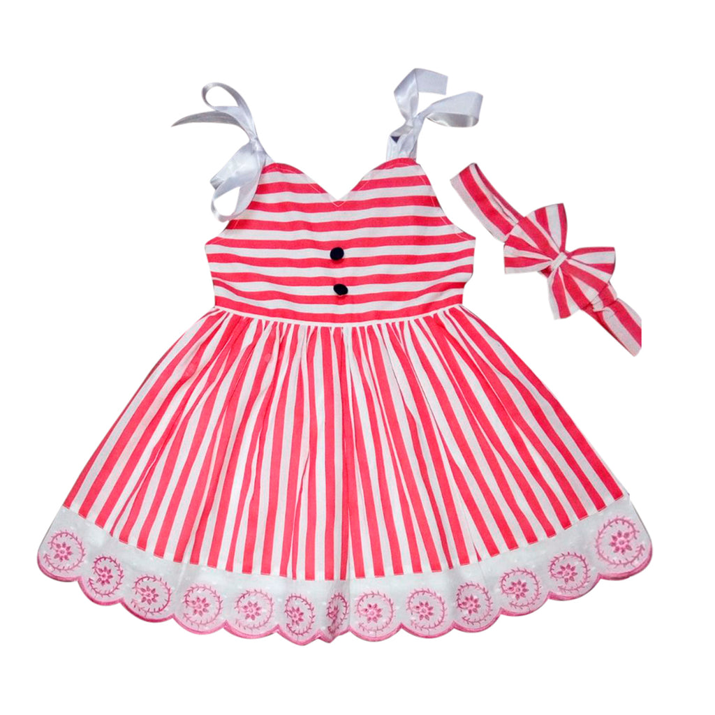 Baby Girls Frocks ctn274p -  Wish Karo Dresses