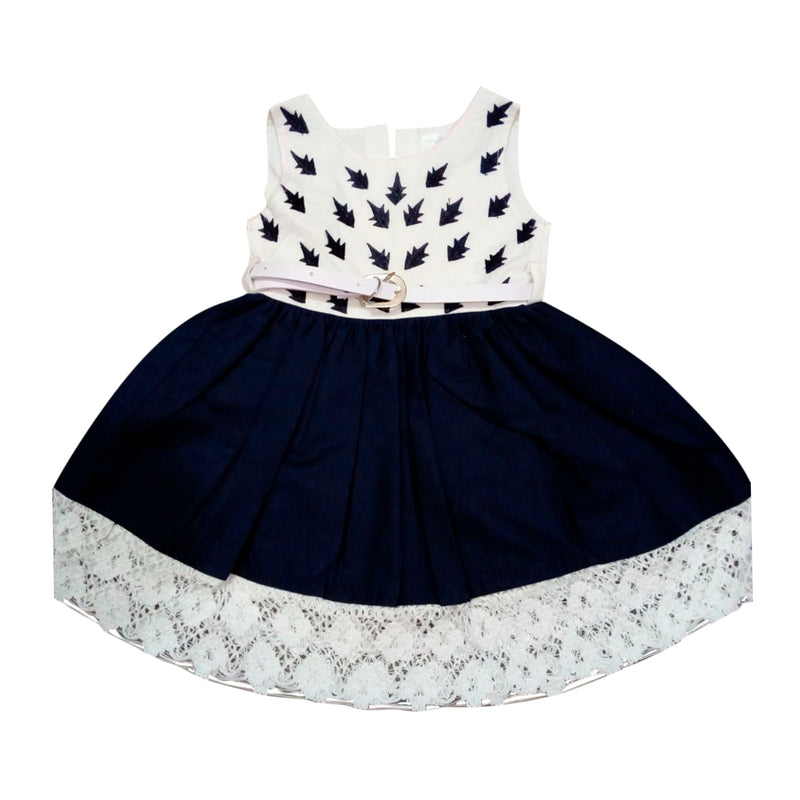 Baby Girls Frocks ctn275blu -  Wish Karo Dresses