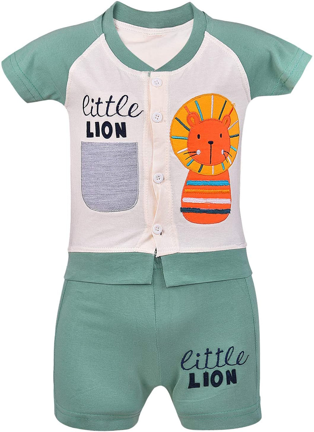 Wish Karo Unisex Clothing Sets for Boys & Baby Girls-(bt23grn)