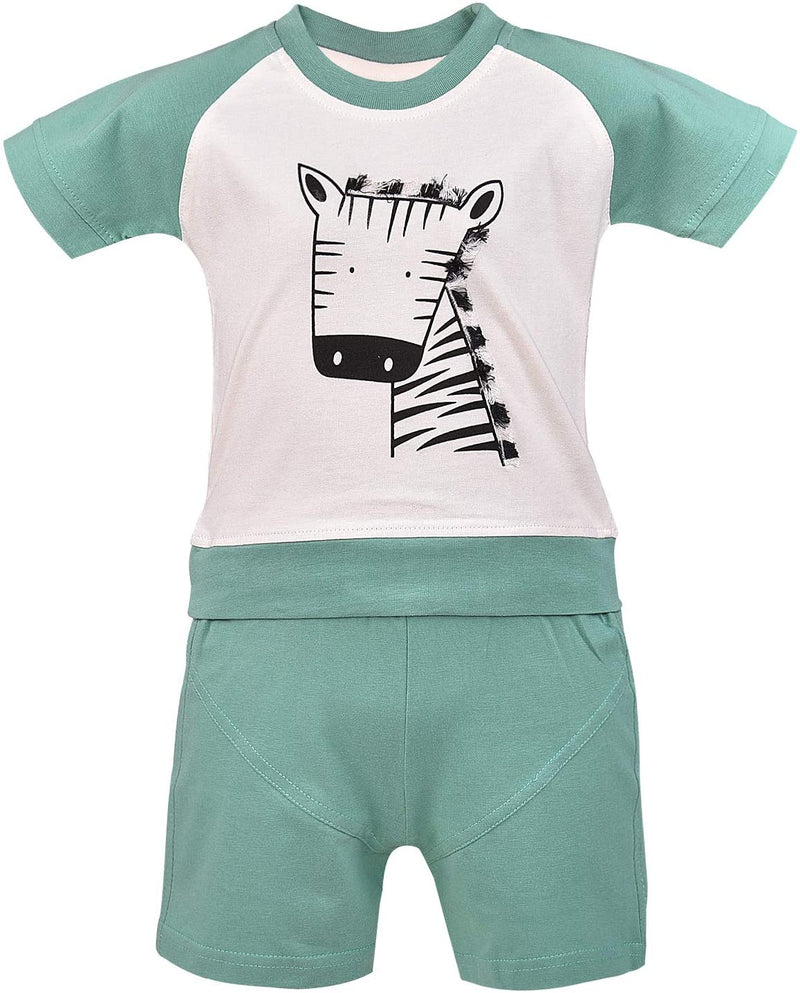 Wish Karo Unisex Clothing Sets for Boys & Baby Girls-(bt24grn)