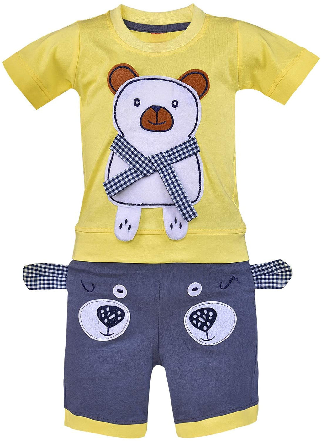 Wish Karo Unisex Clothing Sets for Baby Girls - Boys-(bt26y)
