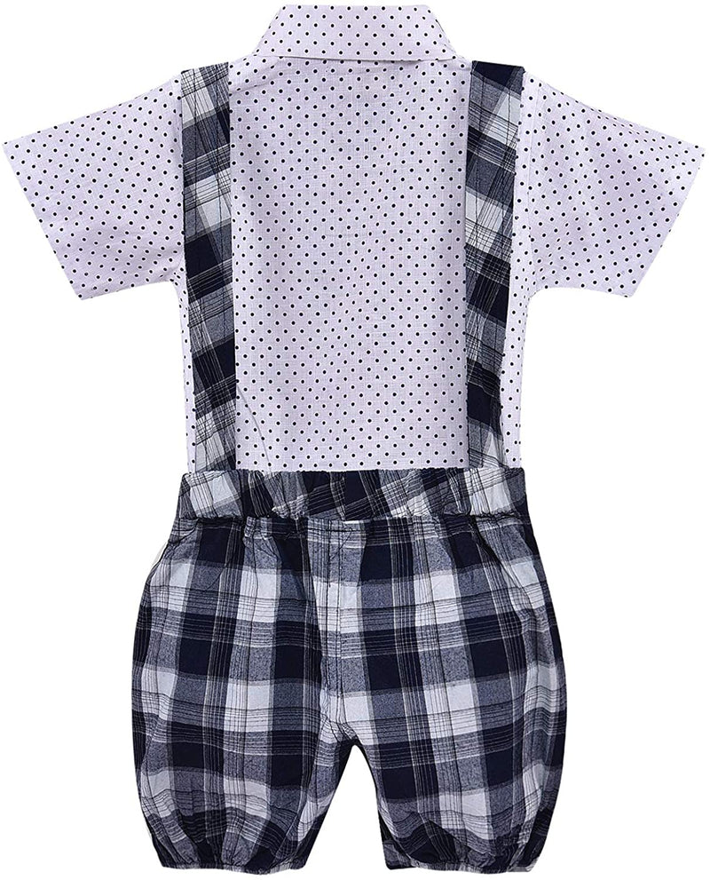 Wish Karo Baby Boys Dungaree Dress For Kids-(bt68y)
