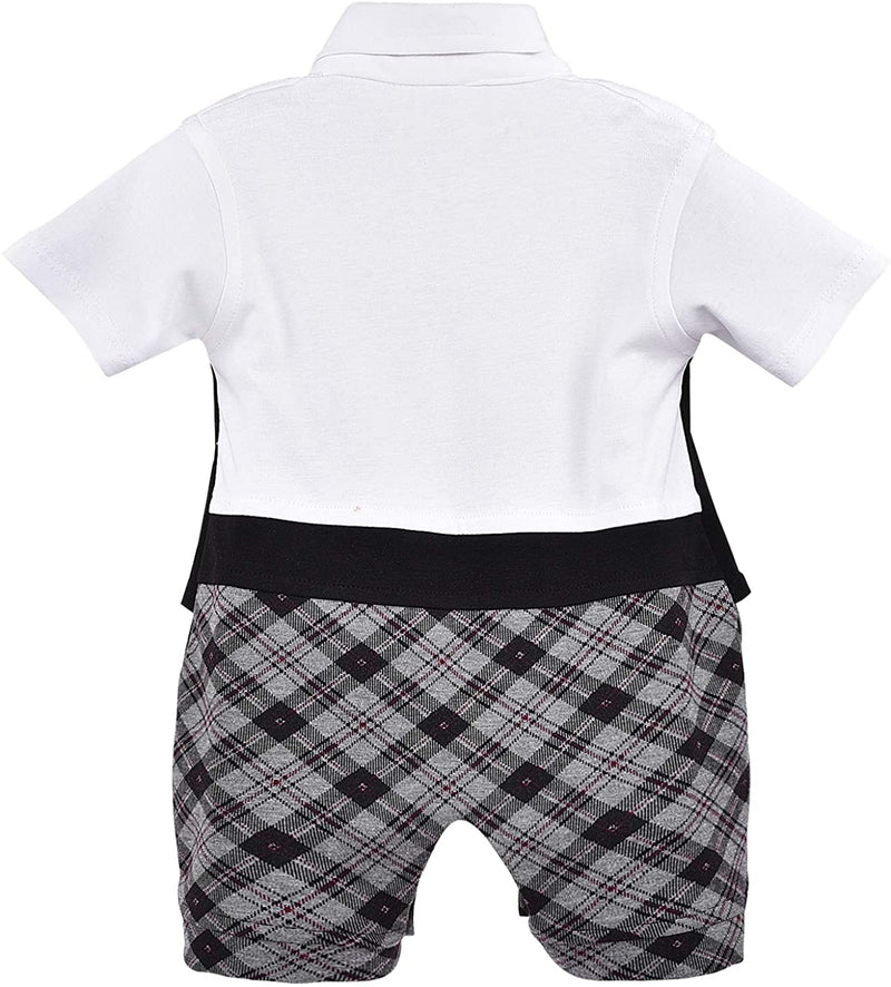 Wish Karo Kids Rompers For Boys-(bt73blk)