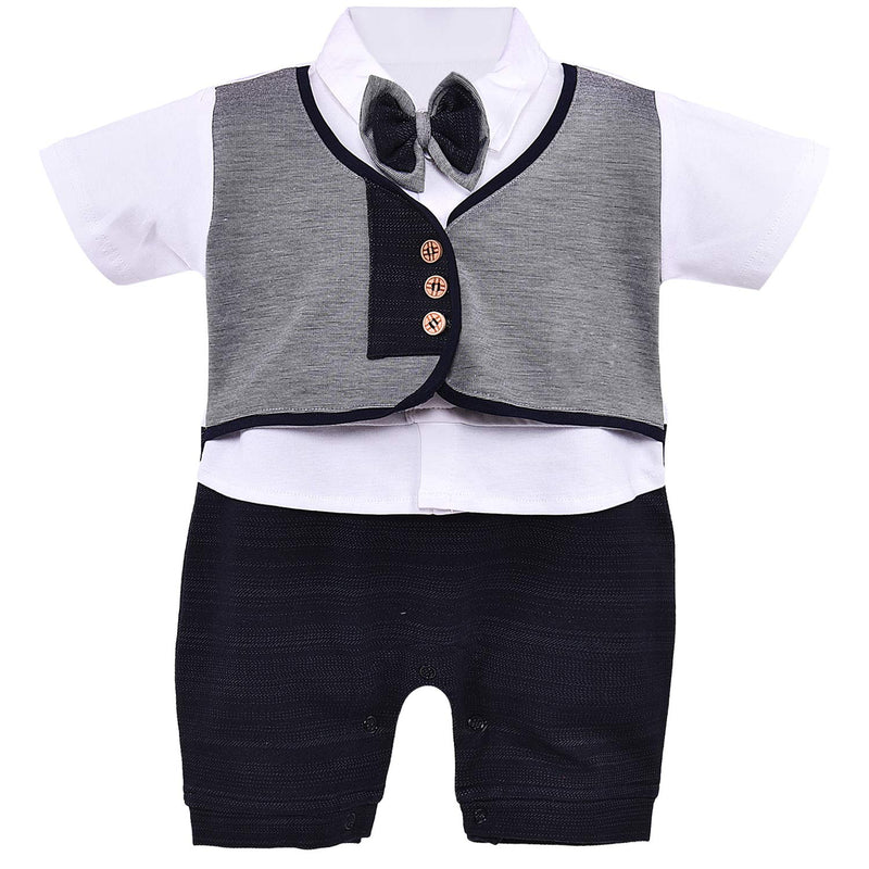 Wish Karo Infant  Boys Rompers-(bt74nb)