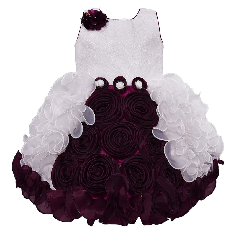 Baby Girls Party Wear Frock Birthday Dress For Girls bxa170wn