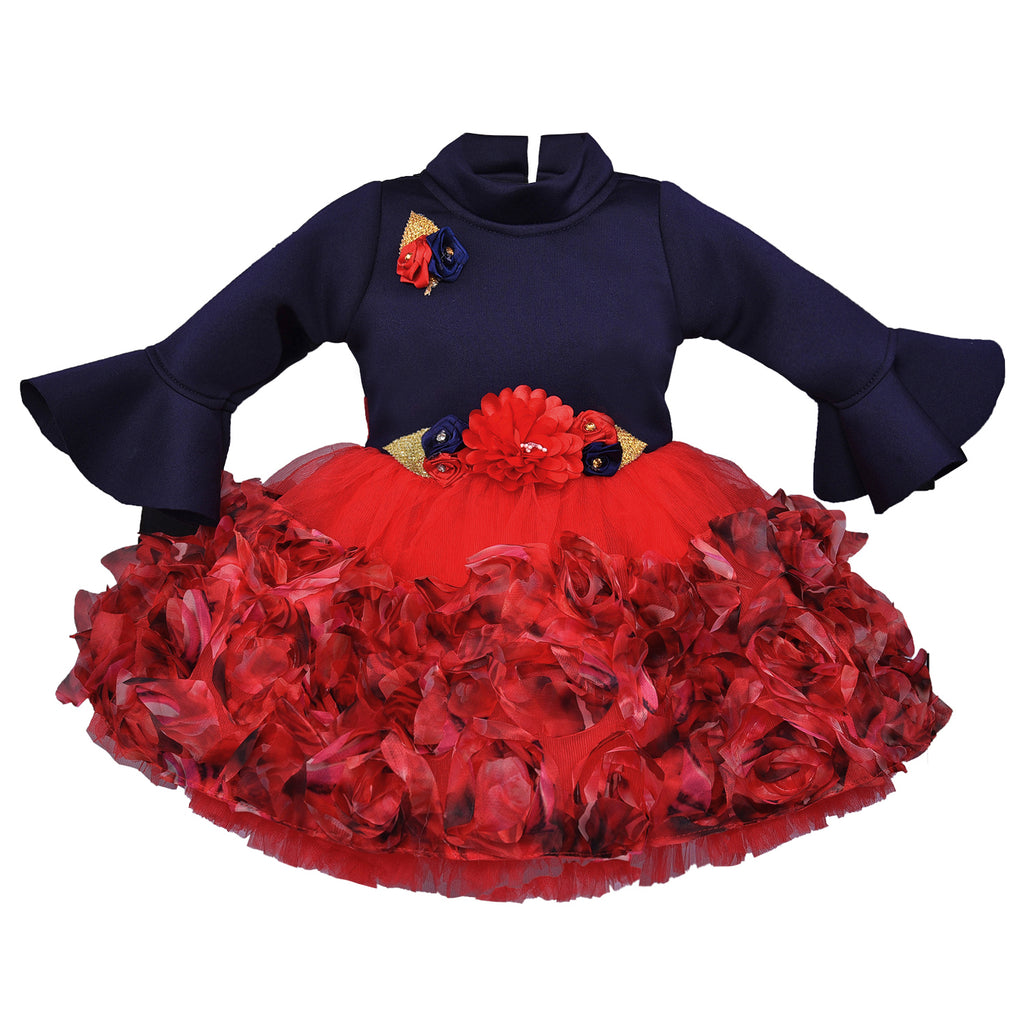 Baby Girls Dress Birthday Frocks for Girls