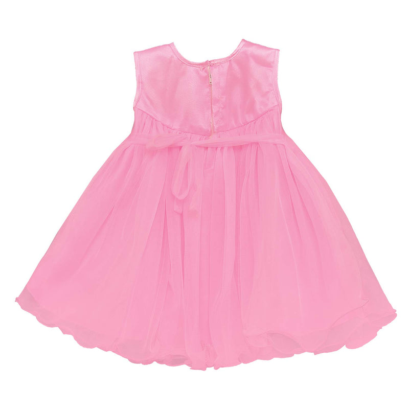 Baby Girls Party Wear Frock Birthday Dress For Girls bxa197bpnk