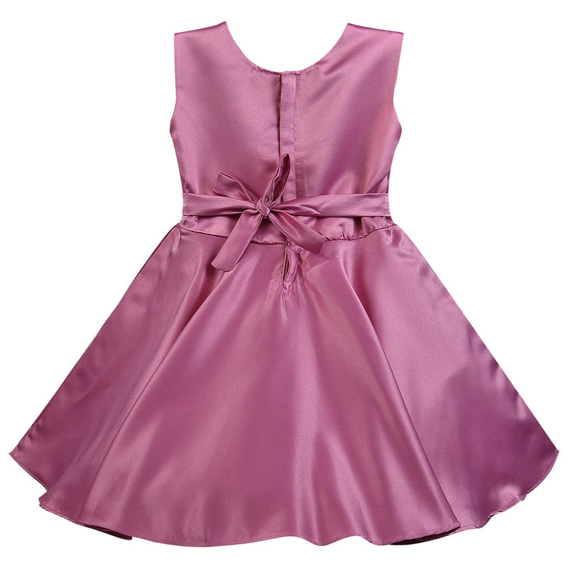 Wish Karo Baby Girls Partywear Dress Frocks For Girls (bxa245ppl)