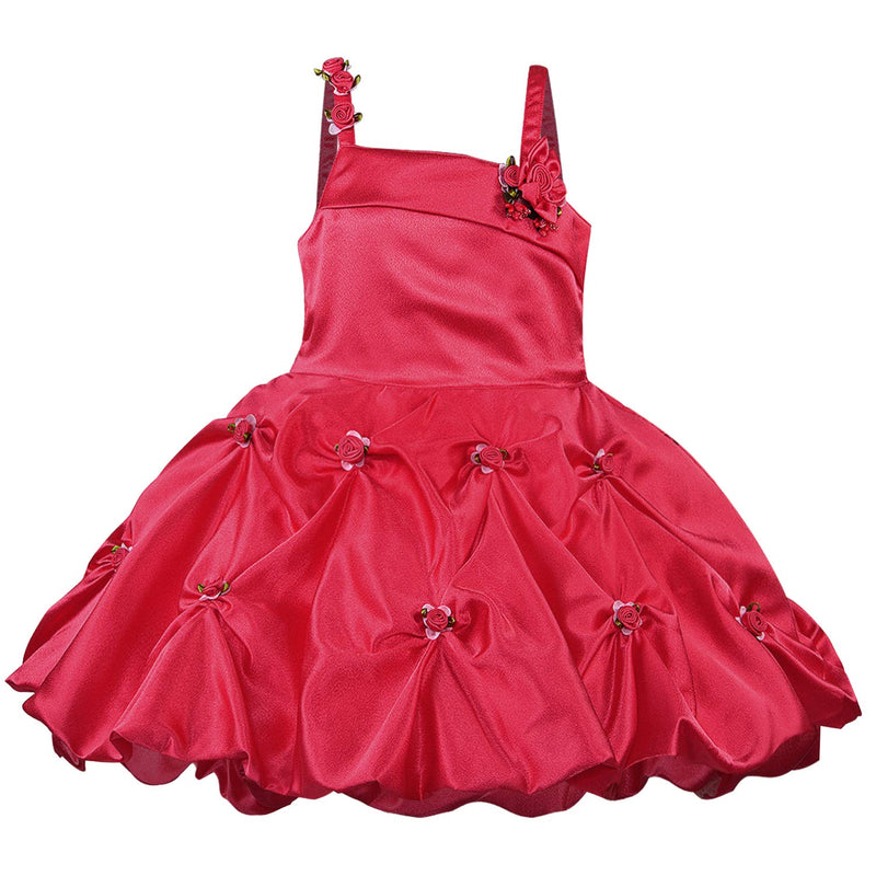 Baby Girls Dress Frock-bxa250pnk