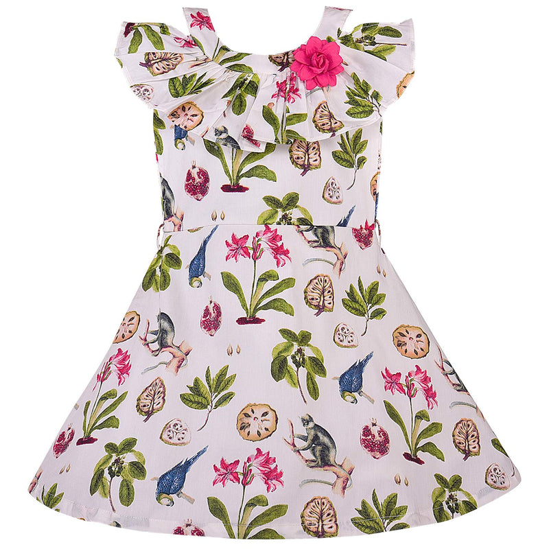 Baby Girls Frock Dress-bxa252w