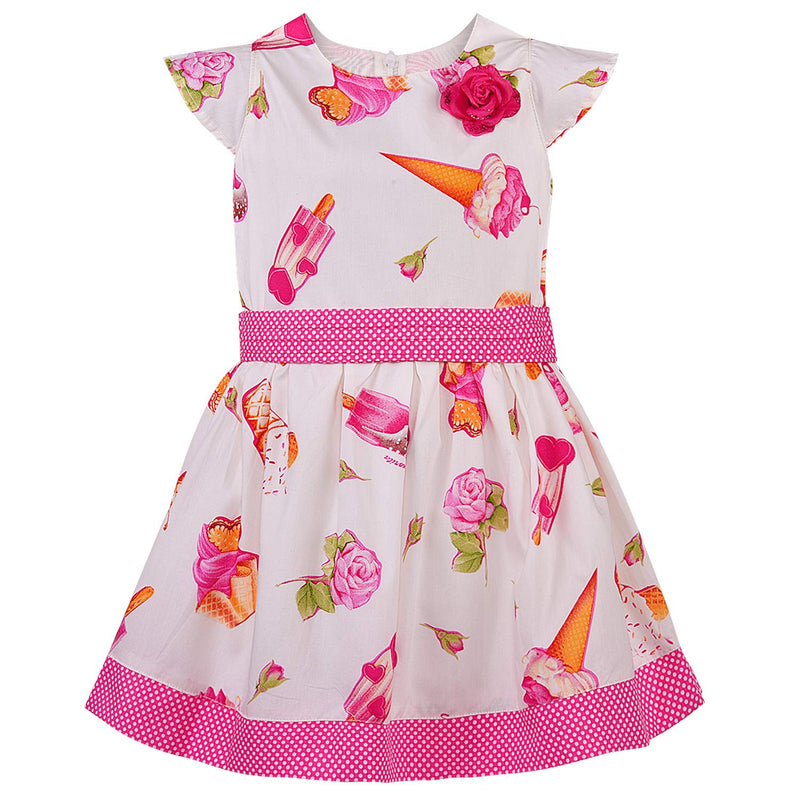 Baby Girls Dress Frock-bxa253pnk