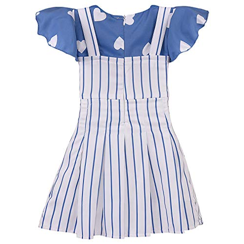 Baby Girls Dress Frock-bxa254blu