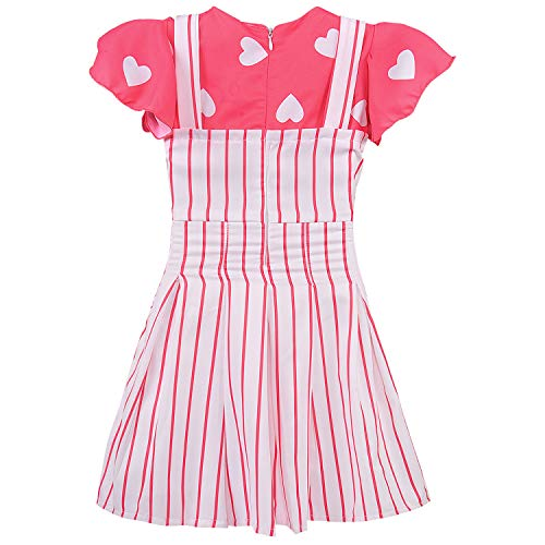 Baby Girls Dress Frock-bxa254pnk