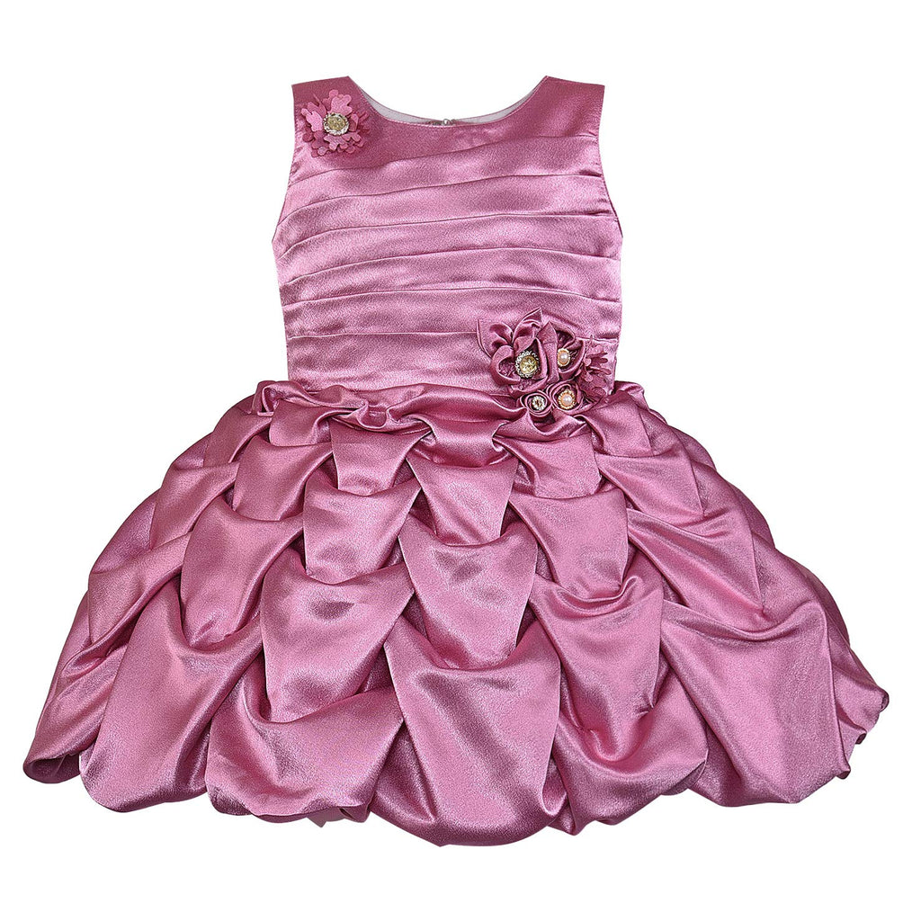 Wish Karo Baby Girls Partywear Dress Birthday Frocks For Girls(bxa262)